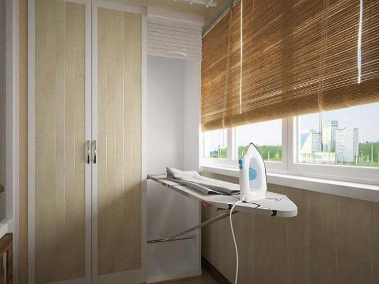 Встраиваемая гладильная доска: в шкаф, зеркало, откидные - 5.