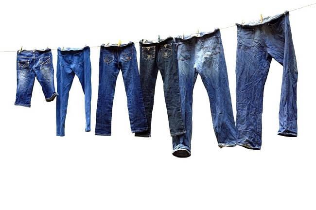 правильная сушка джинсов