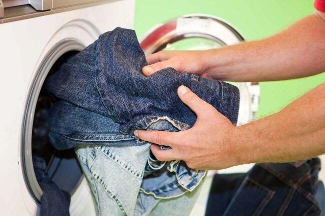сушка джинсов в стиральной машине