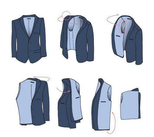 как хранить пиджак