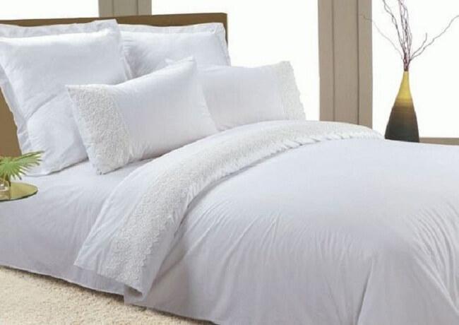 белоснежная постель