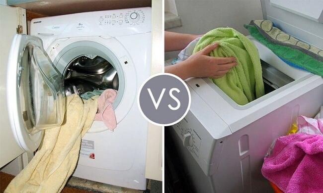 фронтальная или вертикальная стиральная машина