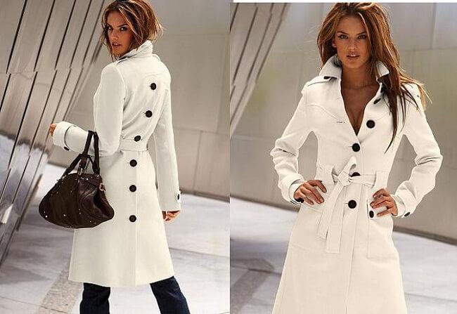 как чистить светлое пальто