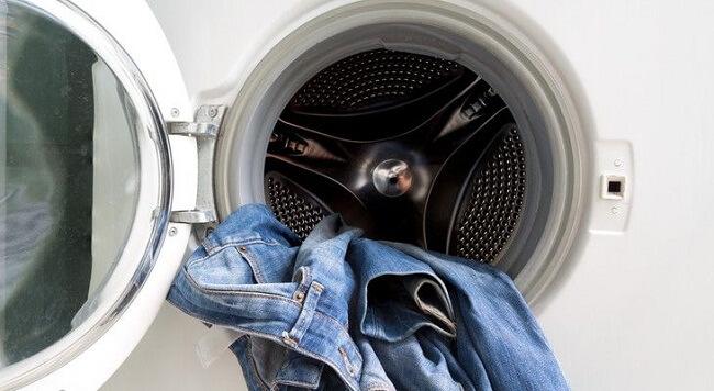 как покрасить джинсы в стиральной машине