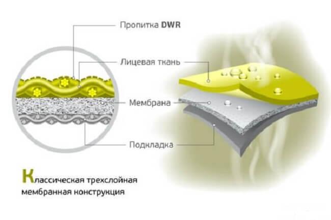 конструкция мембраны