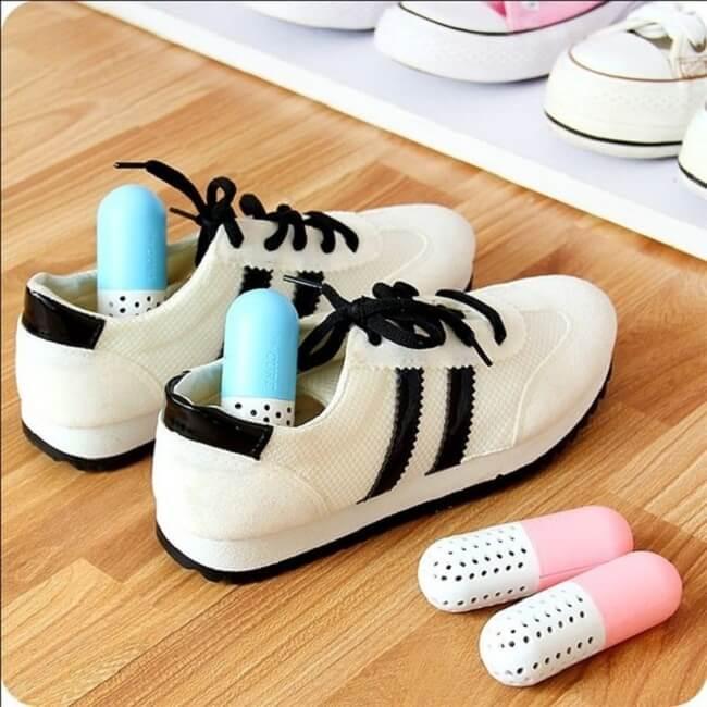 таблетки для обуви