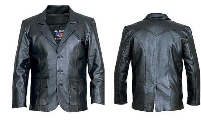 как почистить кожаный пиджак