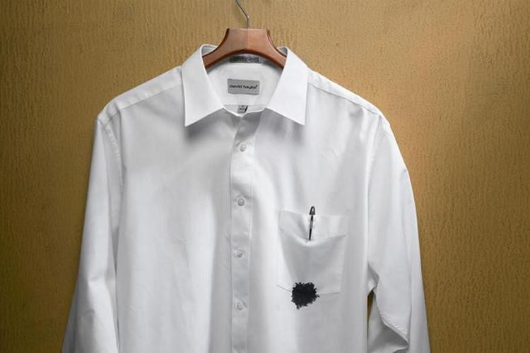 как удалить следы ручки на одежде