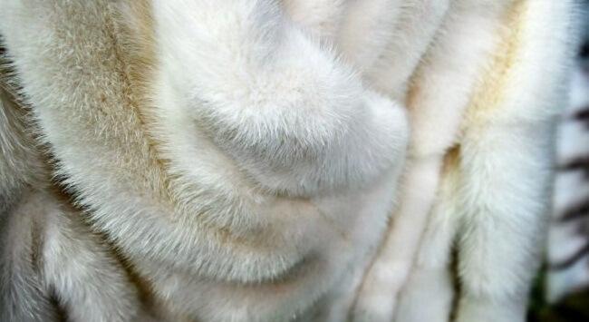 как удалить воск с меха
