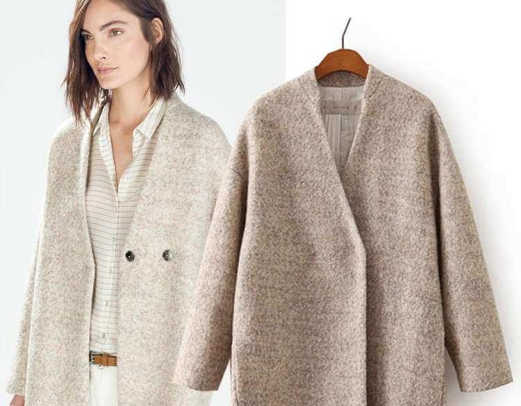 стирка пальто из шерсти