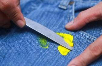 8 замечательных способов удалить следы от пластилина с одежды